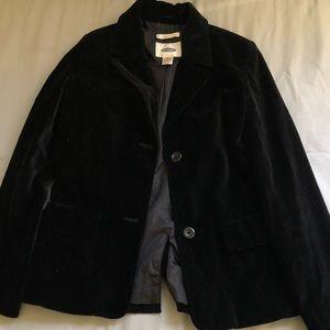 Black velvet blazer!!!